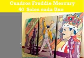Cuadros de Freddie Mercury : A 40 Soles cada Uno
