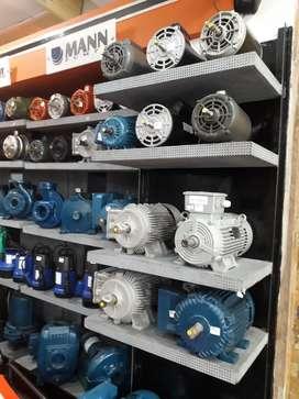Motores eléctricos 110,220v monofásicos y trifásicos a 3600 y 1800 RPM