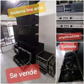Vendo sonido line array