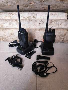 Rádios de comunicación x2 unidades (nuevo)