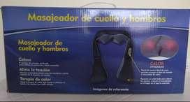 MASAJEADOR DE CUELLO Y HOMBROS