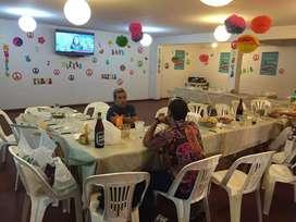Salones de fiestas y catering