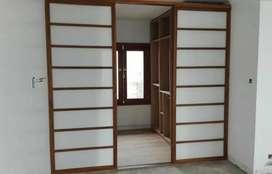 Panel divisorio de ambientes 3m de ancho y 2,10 m alto.