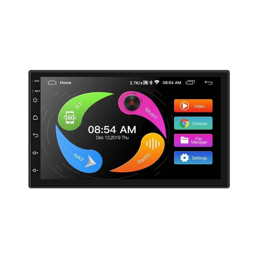 ¡OFERTA! Radio Android 9.0 Para Carro Pantalla De 7″ 16GB ROM 1 GB RAM Obsequio Cámara De Reversa 0