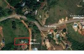 Vendo lote de 1.000 metros cuadrados excelente ubicación y valorización.