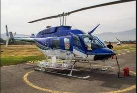 El confiable Bell 206 se ofrece para viajes y misiones
