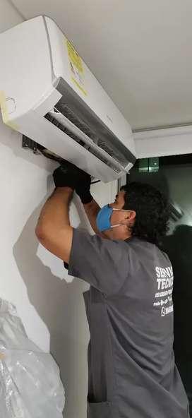 Servicio tecnico, Lavadora, neveras y aires acondicionado