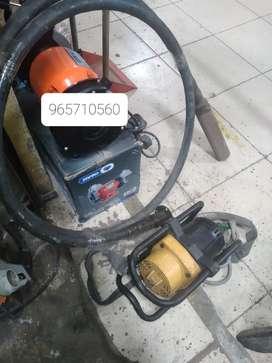 Vibradora de concreto Wyco 2hp