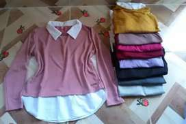 Camisas de lanilla