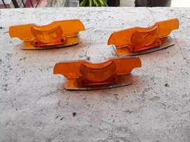 Chapa separador acrilico faro trasero naranja peugeot 404