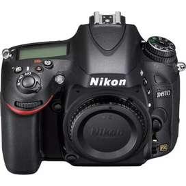 Cámara Nikon D610 body