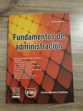 Libro Fundamentos de administración - 3ra Edición