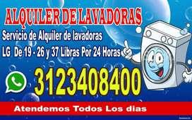 Alquiler de Lavadoras en Villavicencio