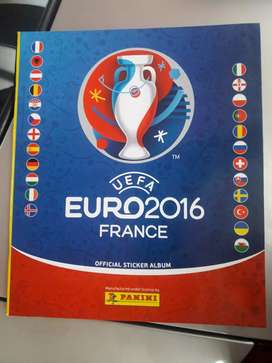 Album Euro copa 2016 france +Laminas completas  para pegar