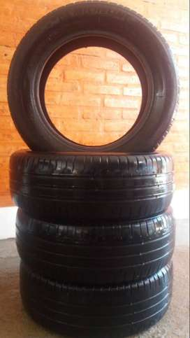 Vendo 4- cubiertas Michelin  195 60 15. Como nuevas