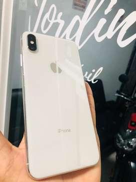 iPhone Xs Max 64Gb  Blanco y Negro Perfectas Condiciones
