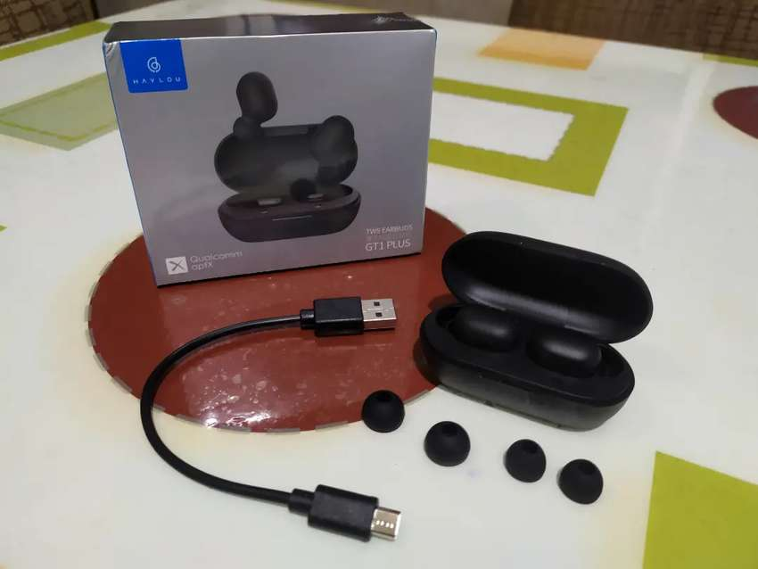 Auriculares Bluetooth haylou gt1 plus 0