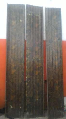 3 toldos fibra de vidrio