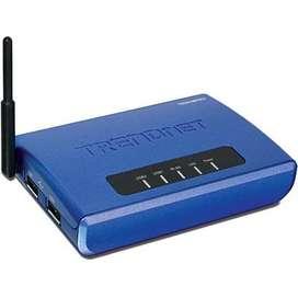 TRENDNET SERVIDOR DE IMPRESION 2 PUERTOS USB