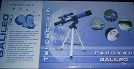 TELESCOPIO GALILEO F400 X 40