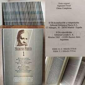 Sigmund Freud. Obras Completas. Editorial Losada.