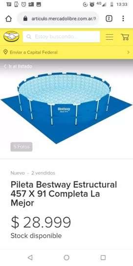 Pileta Bestway estructural