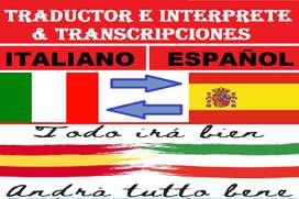 ITALIANO TRADUCTOR INTERPRETE & TRANSCRIPCIONES