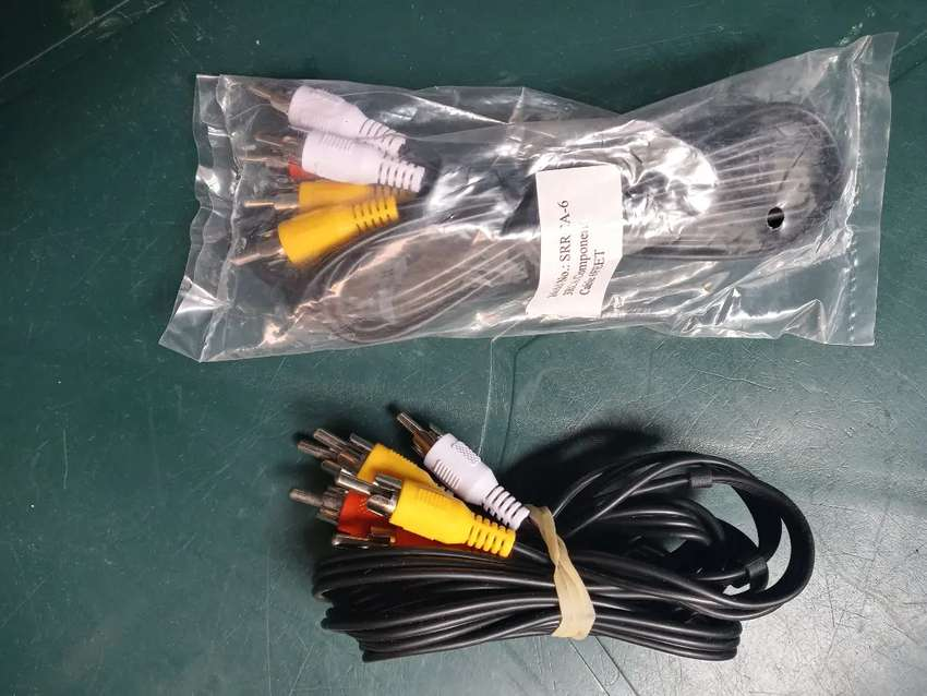 Vendo cable RCA 3X3 de 1.2 metros - 3 mil pesos