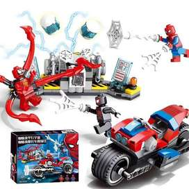 Lego SpiderMan Bike Rescue - Set