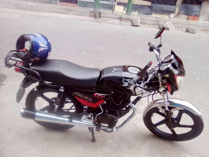 Venta moto por viaje 0