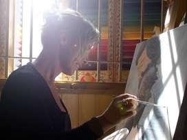 Clases de dibujo, pintura y decoración de muebles y superficies de madera