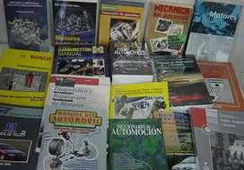 VENDO LIBROS DE ELECTRICIDAD MECANICA Y ELECTRONICA