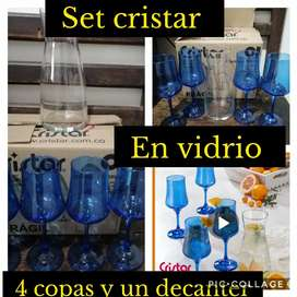 Copas y decanter