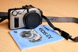 CÁMARA CANON FOTOGRÁFICA IX – Rollo Advantix, para lentes EF, modos, automáticos, semiautomáticos y automáticos.