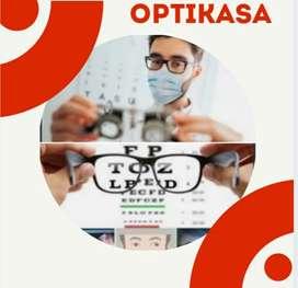 Examen de optometría a domicilio