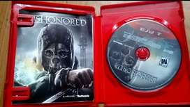 Juegos Ps3 Dishonored Remate