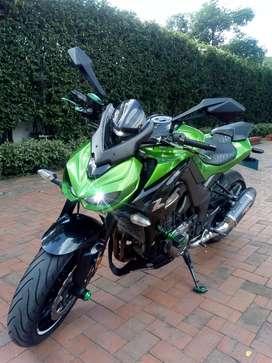 Hermosa Kawasaki Z1000 único dueño