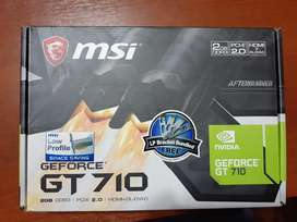 Placa de Video GeForce GT 710 2 GB