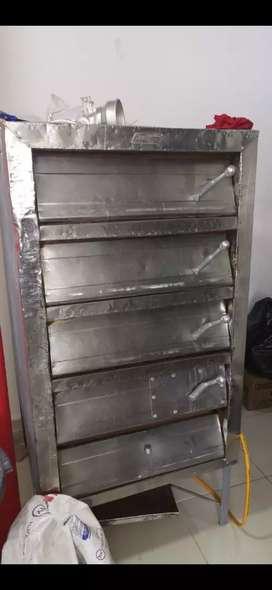 Horno para panadería a gas