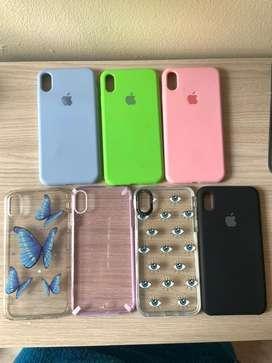 Se venden forros de iphone XR, 8/7 plus y xs max