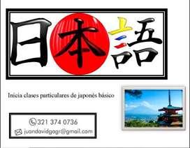 Clases de Japonés básico