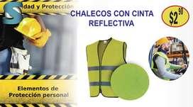 CHALECO CINTA REFLECTIVA