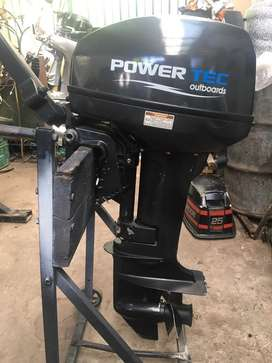 Motor fuera de borda power tec 9.9 impecable!!
