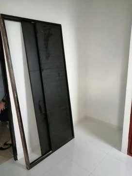 Madera closet triple por madera