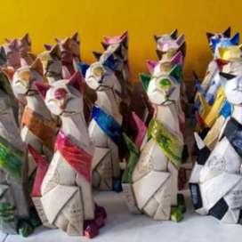 Hermosas Gatas en cerámica