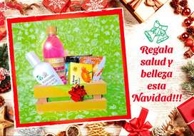 Anchetas Navideñas/Productos de belleza naturales