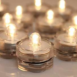 Velas LED sumergibles a 3 mil