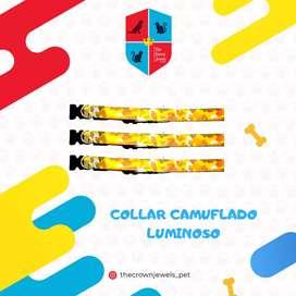 COLLAR  CAMUFLADO REFLECTIVO