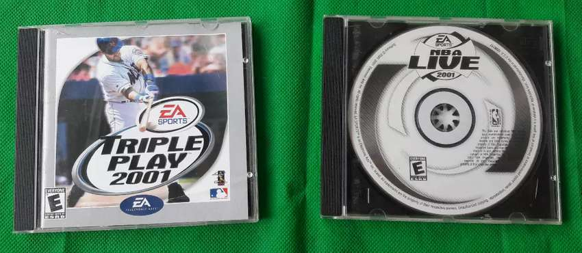 2 Cd juegos EA SPORTS TRIPLE PLAY 2001 0