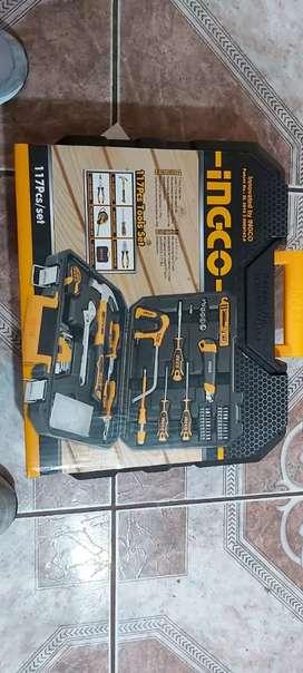 Caja de herramientas 117 psc